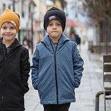 Detské oblečenie - Detská softshell bunda - new jeans - 11560616_