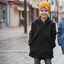 Detské oblečenie - Detská softshell bunda - black - 11560640_