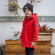 Detské oblečenie - Detská softshell bunda - red - 11560656_