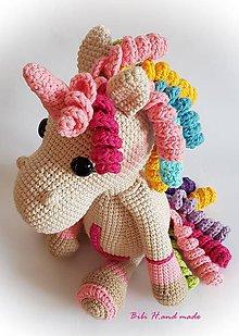 Hračky - Jednorožec Pink L..:) - 11561483_