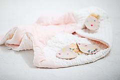 Textil - Dekovka s menom - 11559533_