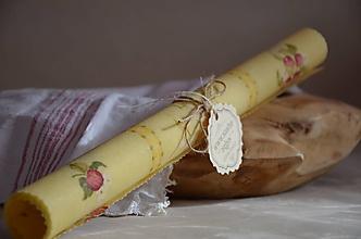 Úžitkový textil - Včeloobal červené jabĺčko - 11560147_