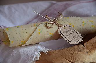 Úžitkový textil - VČELOOBAL - MiskoPOKRIEVKA 4 ks - 11560218_