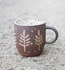 Nádoby - Hrnček na espresso hnedý - 11560347_