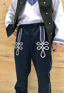 Oblečenie - Pánske krojové nohavice 2 - 11561116_