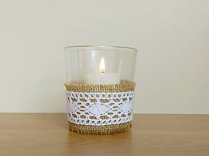 Svietidlá a sviečky - Svadobný svietnik ❤️ - 11560549_