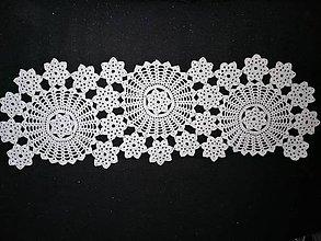 Úžitkový textil - Háčkované dečky (najdlhšia / trojkolesová:) - 11564984_