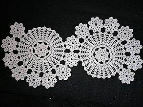 Úžitkový textil - Háčkované dečky (dvojkolesová) - 11564985_