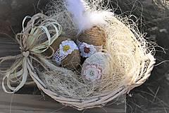 Košík s vajíčkami