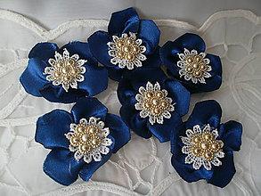 Iné doplnky - Saténové kvety - 11564576_