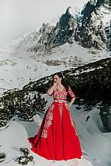 Šaty - Mini vyšívané šaty Slavianka - 11564353_