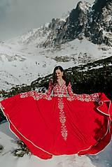 Šaty - Mini vyšívané šaty Slavianka - 11564358_