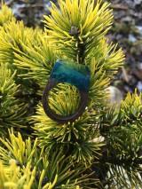 Prstene - Drevený prsteň: Tajomná hmla - 11563181_