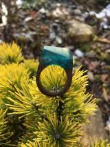 Prstene - Drevený prsteň: Tajomná hmla - 11563183_