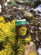 Prstene - Drevený prsteň: Tajomná hmla - 11563184_