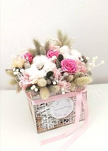 Dekorácie - Kvetinový box - 11563611_