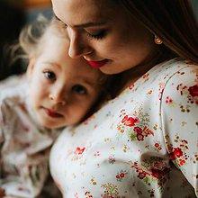 Tehotenské/Na dojčenie - Tričko na dojčenie ENERGIA KVETÍN - 11563337_