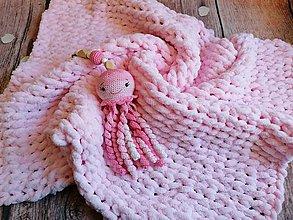 Textil - Set pre bábätká medúza - 11567284_