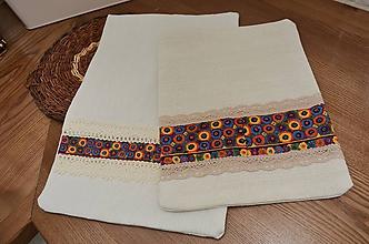 Úžitkový textil - Originálne ľanové vrecká - 11566349_
