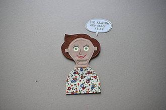 Nezaradené - Nášivka Dievčatko - 11566422_