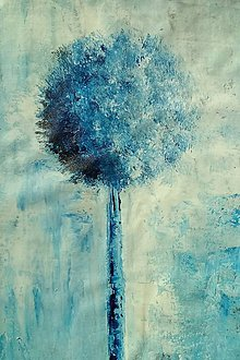 Obrazy - Som modrý - 11565832_