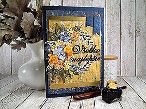 Papiernictvo - Všetko najlepšie pohľadnica - 11566638_