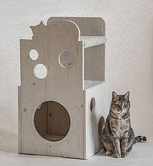 Pre zvieratká - Mačací domček - 11566499_