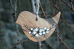 """Dekorácie - veľkonočná dekorácia na zavesenie """"vtáčik"""" - 11566891_"""