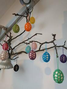 Dekorácie - Veľkonočné vajíčka - 11566895_