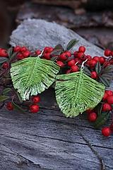 Náušnice - Makramé náušnice svieže zelené - 11567779_