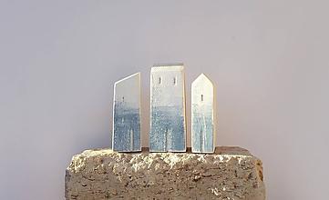 """Dekorácie - Drevené domčeky """"Fira"""" - 11567040_"""