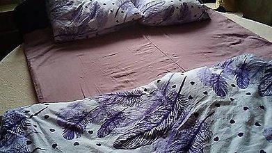 Úžitkový textil - Ľanová obliečka na vyhrievaciu deku na manželskú posteľ - 11569948_