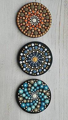 Magnetky - Drevená magnetka maľovaná - 11572819_