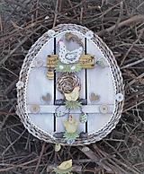 Dekorácie - Závesná dekorácia: Veľkonočné vajíčko - 11572146_