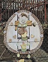 Dekorácie - Závesná dekorácia: Veľkonočné vajíčko - 11572147_