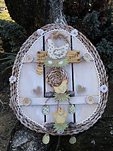 Dekorácie - Závesná dekorácia: Veľkonočné vajíčko - 11572148_
