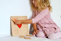 Hračky - Geometrické tvary na magnet - 11570442_