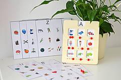 Hračky - Edukačná pomôcka na analýzu slova - 11570543_