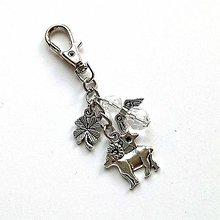 """Kľúčenky - Kľúčenka """"znamenia"""" s anjelikom (baran (21.3.-20.4.)) - 11571862_"""