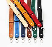 Iné tašky - Kožený popruh ku kabelke CITY BAG /10 farieb/ (Svetlo-hnedy Caramel) - 11569364_