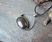 Náhrdelníky - Divoká (pyrit) - 11568861_