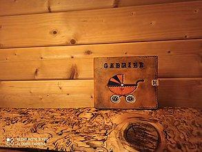 Papiernictvo - Kožený obal na album pre chlapčeka - 11570235_