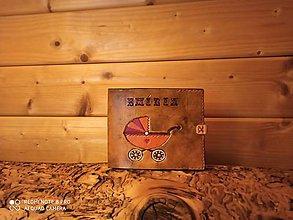 Papiernictvo - Kožený obal na album pre dievčatko - 11570271_