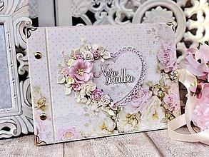 Papiernictvo - Svadobný fotoalbum - 11571600_