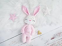 Hračky - Zajačik Blush perleťový - 11571248_