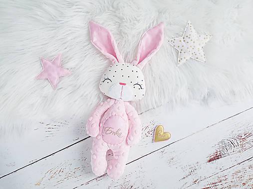 Zajačik Blush perleťový