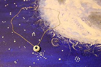 Náhrdelníky - Howlit náhrdelník - 11572268_