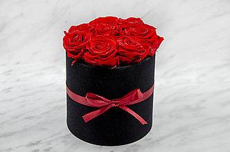 Dekorácie - Eternal Rose Flower box (Eternal Rose Flower box Red Cherry) - 11569567_