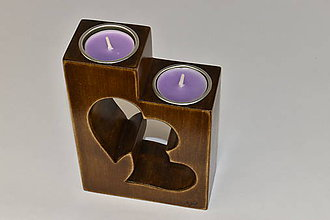 Svietidlá a sviečky - Pár - 11572735_