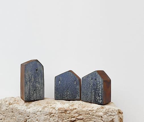 """Dekorácie - Drevené domčeky """"Livigno"""" - 11571490_"""